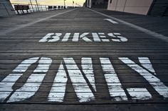 Bikes only...