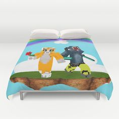 Ibalisticsquid and stampy duvet cover Minecraft Stampy, Minecraft Room, Air Max Essential, Air Max Classic, Nike Air Max 2012, Nike Spandex, Nike Quotes, Air Max Day, Nike Joggers