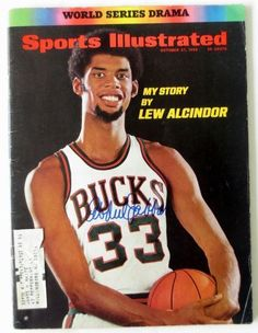 Featured is a Kareem Abdul-Jabbar Milwaukee Bucks Signed Sports Illustrated Magazine. This item was hand-signed by Kareem Abdul-Jabbar and includes a JSA Auction House Letter of Authenticity.