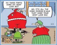 Santa's Butt.....