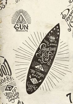 Hand Lettering Boards by BMD Design @Brittany Daniel Design  http://www.behance.net/gallery/Graphic-hand-lettering-boards/4962775