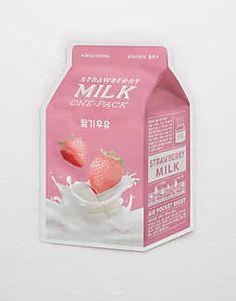 A'PIEU Milk Sheet Mask Strawberry
