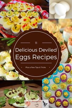 In honor of all the Mamas who will be looking for a way to use up hard-boiled eggs very soon here is a roundup of some great Deviled Eggs recipes, & a few bonus tips and recipes!