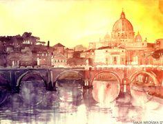 Rome Art Print by Takmaj | Society6