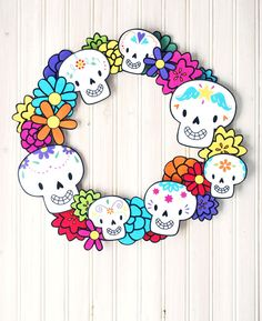 The celebration of Dia de los Muertos is a colorful holiday filled with flowers, special bread...