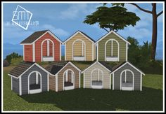 The Sims 4 Conversion Dog House Sims Four, Sims 4 Mm Cc, Die Sims 4 Packs, Cat Sim, Tumblr Sims 4, Sims 4 Beds, Sims Pets, Sims 4 Game Mods, Sims 4 Gameplay