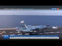 Porta-aviões russo perde um segundo avião na Síria