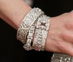 Cartier's biggest and most risky move was introducing platinum over the traditional gold and silver as its preferred setting material. Platinum's greater stability allowed more diamonds to be set in a piece in a small area and enabled the number of articlulations to be increased without endangering the global solidity of the piece. It was also tarnish-free. The availability of relatively cheap small diamonds from the new finds in South Africa, Cartier's risk-taking paid off.