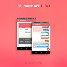 """Check out my @Behance project: """"Magma Insurance App Design"""" https://www.behance.net/gallery/45311793/Magma-Insurance-App-Design"""