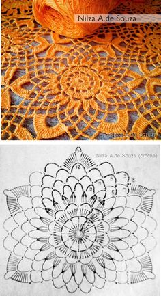 Transcendent Crochet a Solid Granny Square Ideas. Inconceivable Crochet a Solid Granny Square Ideas. Crochet Circles, Crochet Blocks, Crochet Doily Patterns, Crochet Diagram, Crochet Chart, Crochet Squares, Thread Crochet, Crochet Designs, Crochet Flowers