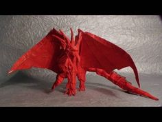 Ancient Dragon Origami Tutorial