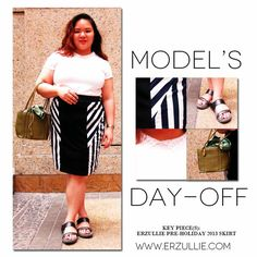 PLUS SIZE STYLE: MODEL'S DAY-OFF