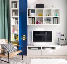 Ikea Lab catálogo Diy Home Crafts, Elle Decor, Decoration, Bookcase, Wordpress, Shelves, Interior Design, Tv Stands, House Tours