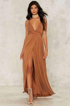 STYLESTALKER Mile High Cutout Maxi Dress