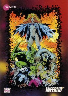 Inferno Marvel Universe Series 3 #188