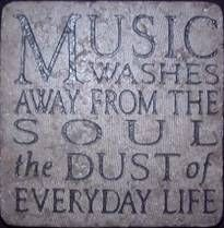 Music Washes the Soul.anything from my Pandora to a local Jazz station. I love music. I Love Music, Music Is Life, Great Quotes, Quotes To Live By, Inspirational Quotes, Awesome Quotes, Inspiring Sayings, Meaningful Quotes, Motivational Quotes