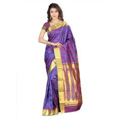 kanchipuram nandani art silk-16 emboss butta sarees