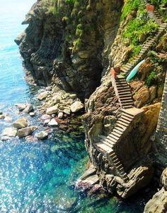 Steps To The Sea, Amalfi Coast, Italy