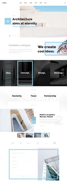 Бесплатный шаблонSeleneявляется идеальным выбором для дизайна интерьера и строительной компании.