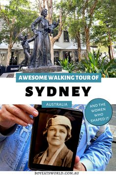 If you're looking for things to do in Sydney, Australia then consider a walking tour to see the city and get to know the people who shaped it, like the incredible women behind Sydney. I walking tour of Sydney I walking tour in Australia I Sydney walking tour I things to do in Australia I what to do in Sydney I Australia walking tour I Sydney tour I unique activities in Sydney I how to see Sydeny I the women of Sydney I #Sydney #Australia Toddler Travel, Travel With Kids, Family Travel, Cities In Wales, Sydney Australia Travel, Sydney Beaches, Sydney City, Family Road Trips, New Zealand Travel