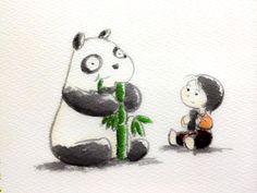 2014.2.3 【一日一大熊猫】 恵方巻きは定められた方向に向いて 無言で食べ切るんだよ。 無言で、、、試練か???