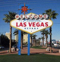 classic Las Vegas sign...
