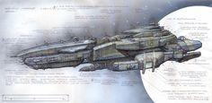 space battle concept art - Google Search