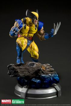 X-MEN DANGER ROOM SESSIONS WOLVERINE FINE ART STATUE