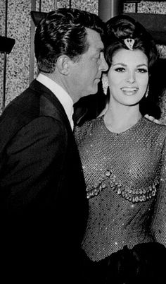 Dean Martin and Raquel Welch / AS1966