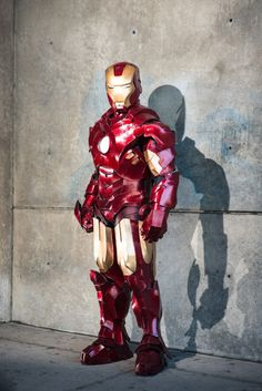"Iron Man Mk IV (Foam) by <a href=""https://www.facebook.com/andrewscosplay"">Andrew Makes Things</a> Photo by <a href=""http://eleventhphotograph.com/"">Mike Kowalek</a>"