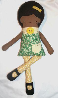 African-American Rag Doll,.