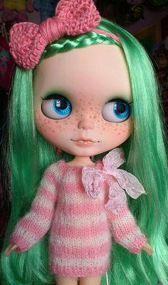 Blythe-I love the freckles.