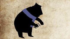 ''Feeding birds'' Directed and animated by David Kurnavka Feeding Birds, Bird Feeders, Illustrators, Owl, Batman, David, Animation, Superhero, Fictional Characters