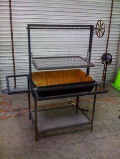 welding projects | Thread: My first welding project a BBQ ---------- Mi primer proyecto de soldadura de una barbacoa