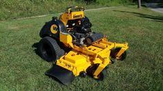 2009 Wright ZK61 Stander Commercial Zero Turn Hydro Kawasaki 31HP Lawn Mower  #Exmark