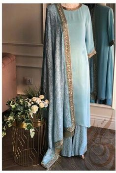 From brownsaree Searching for quality Latest Elegant Designer Punjabi Suit also Modern ladies Salwar suits then Click above VISIT link for Pakistani Dress Design, Pakistani Outfits, Indian Outfits, Indian Dresses, Emo Outfits, Trendy Outfits, Indian Attire, Indian Wear, Indian Suits Punjabi