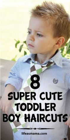 8 Super Cute Toddler Boy Haircuts