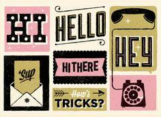 hi typography