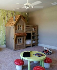 The Rustic Cabin Bunk Bed                                                                                                                                                                                 More