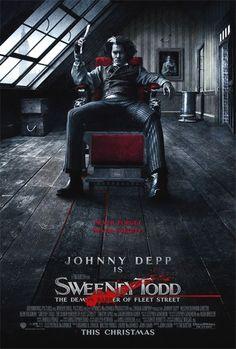 Sweeney Todd: Il diabolico barbiere di Fleet Street (Un film di Tim Burton. Con Johnny Depp, Helena Bonham Carter - USA 2008)