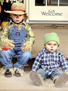 Scarecrow babies! My boys are soo cute!