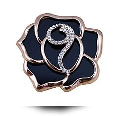 Cheap material brooches, Buy Quality brooches and pins directly from China brooch fashion Suppliers: CINDY XIANG Fashion Big Rose Flower Brooches Black Acrylic Material Brooches And Pins Fashion Jewelry Coat Dress Bijouterie Gift Jewelry Party, Costume Jewelry, Christmas Presents For Women, Jewelry Sets, Jewelry Accessories, Black Silver, White Gold, Flower Model, Romantic Roses