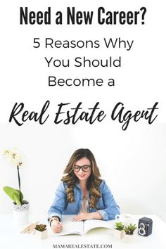 Want a career that's challenging, fun and rewarding? Become a Real Estate Agent! Read this post to find out the top 5 reasons why you will love it! @mamarealestate