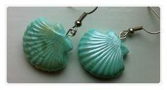 Clay Seashell earrings - Mishu craft