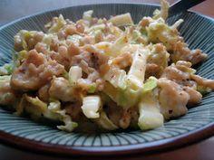 LCHF-bloggen: Kinakålcarbonara med kylling