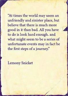 halloween quotes lemony snicket - Google Search