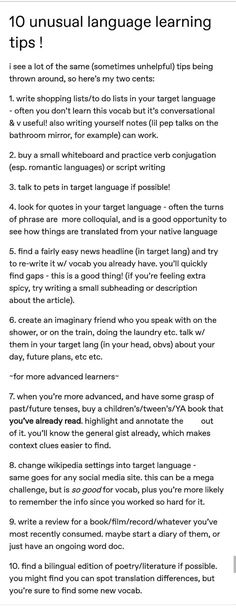 Language learning unusual tips – Foreign Language Learn German, Learn French, Learning Italian, Learning Spanish, Spanish Activities, Learning Languages Tips, Learn Languages, Foreign Languages, Learn Another Language