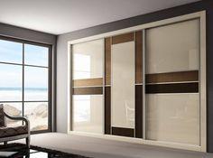 Modern Bedroom Wardrobe designs with images Wardrobe Laminate Design, Wardrobe Design Bedroom, Luxury Bedroom Design, Bedroom Furniture Design, Modern Bedroom, Modern Wardrobe, Master Bedroom, White Bedrooms, Dream Bedroom