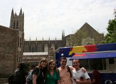 #MEMPMEngBaguettaboutit with Katie, Kristen, Adam & Joe #GradClassesROver #OneDayAtDuke