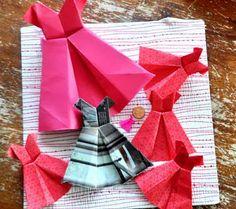 Origami Maniacs: Origami Dress
